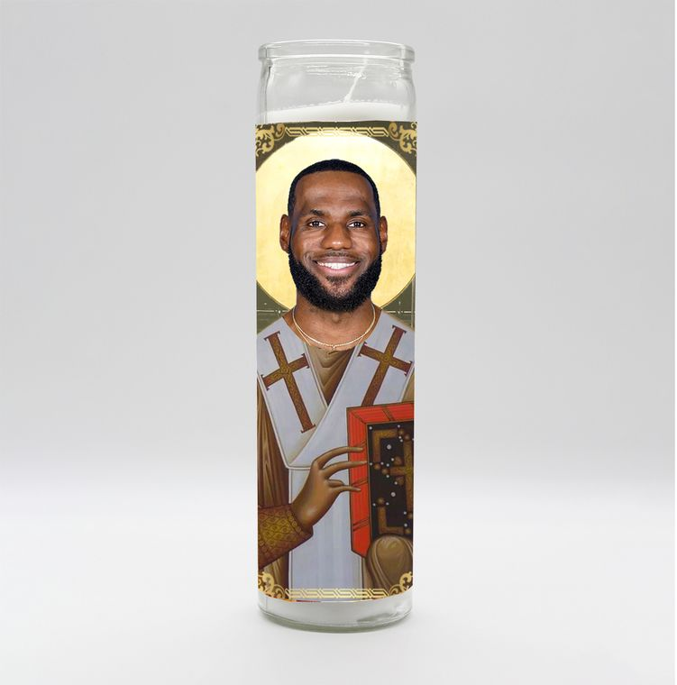 LeBron James Candle