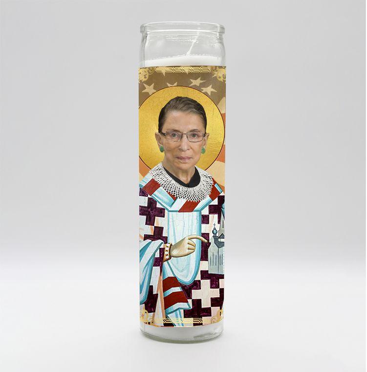 Ruth Bader Ginsburg Candle