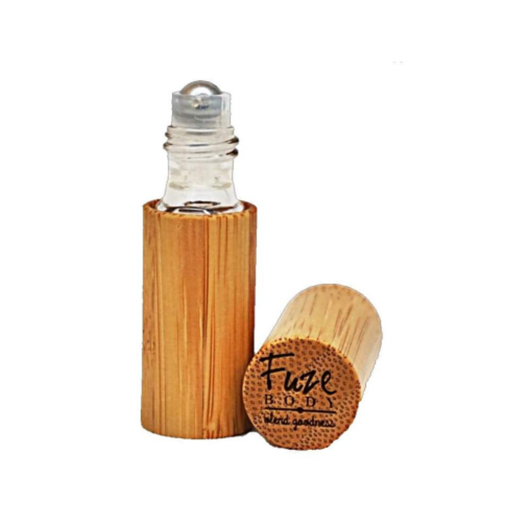 Rose Essential Oil Bamboo Roll-On- 5ml