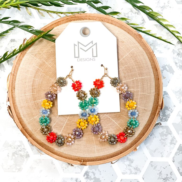 Flora Earrings - Multi