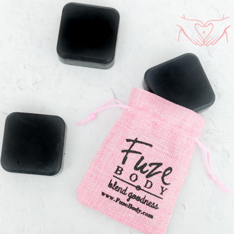 Monthly Comfort Activated Charcoal Facial Soap
