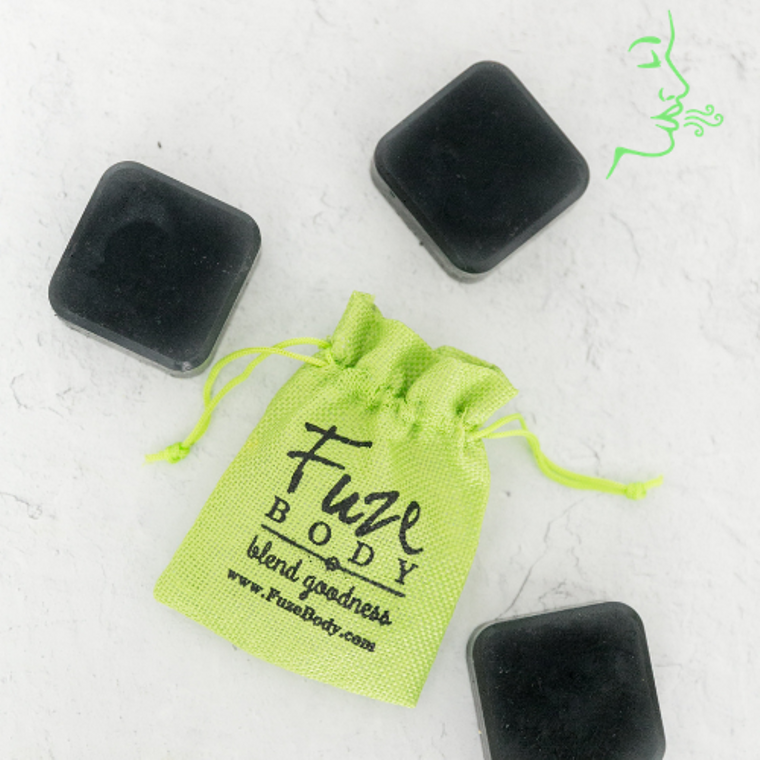 Breathe Clear Activated Charcoal Facial Soap