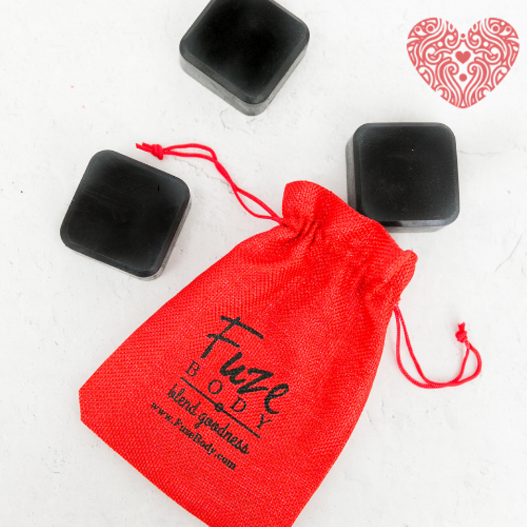 Romance Activated Charcoal Facial Soap