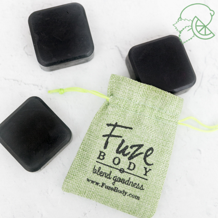 Mojito Activated Charcoal Facial Soap