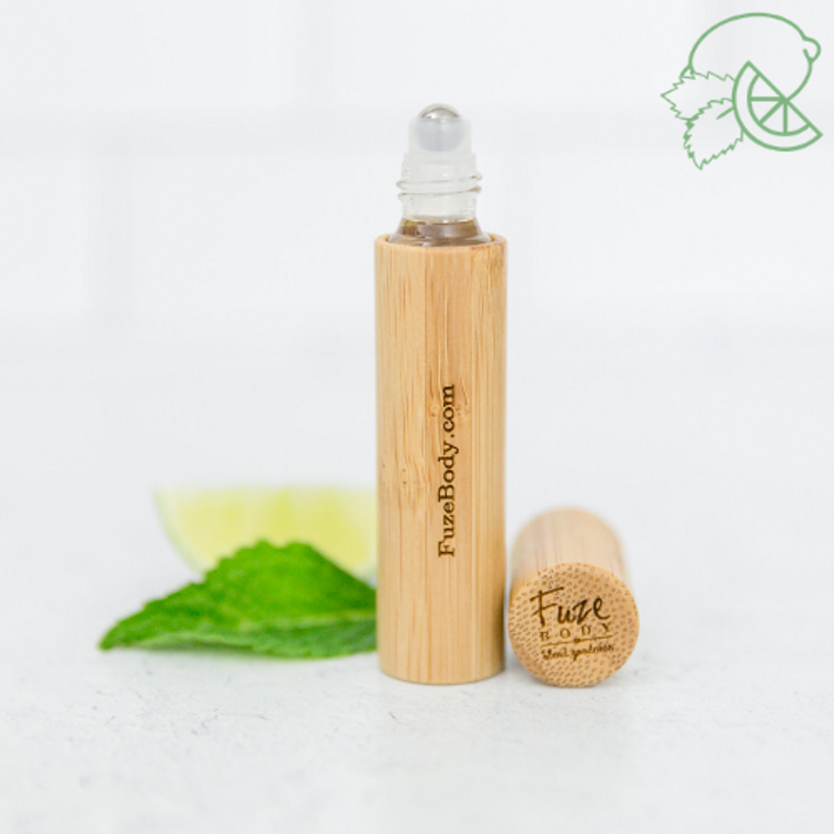 "Calm ""Mojito"" Bamboo Roll-On - 10ml - Best Seller"