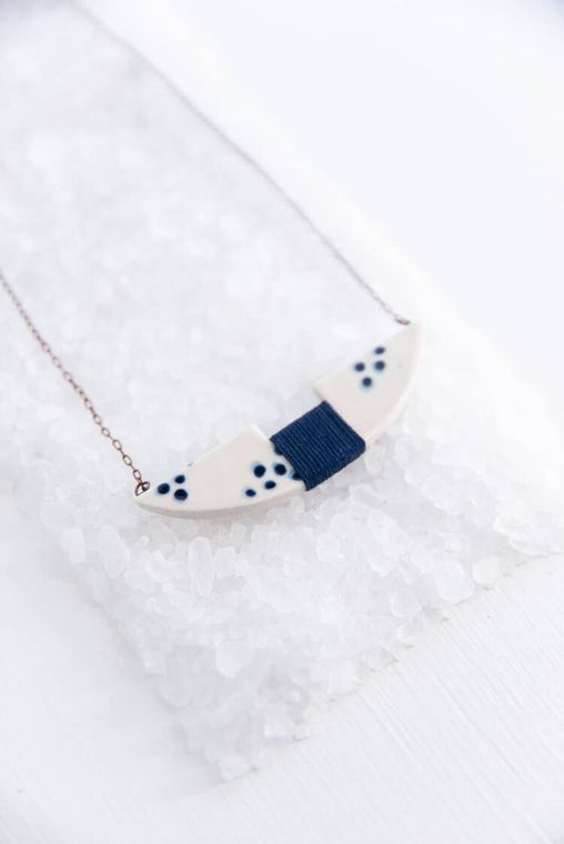 Wrapped Catamaran Necklace