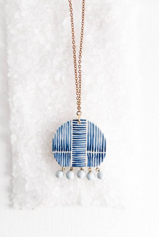 Dome & Dots Necklace Necklace