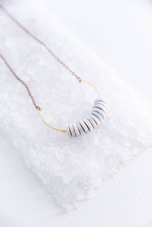 Multi Disk Necklace