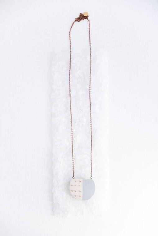 Deep Sea Dots Necklace