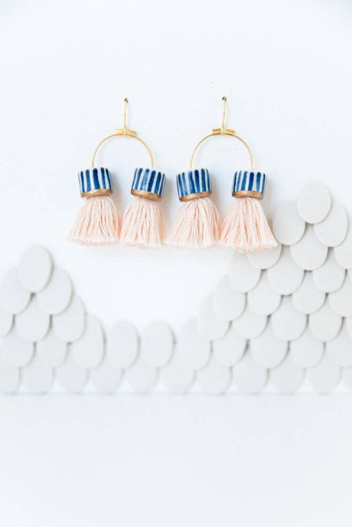 Double Tassel Earrings