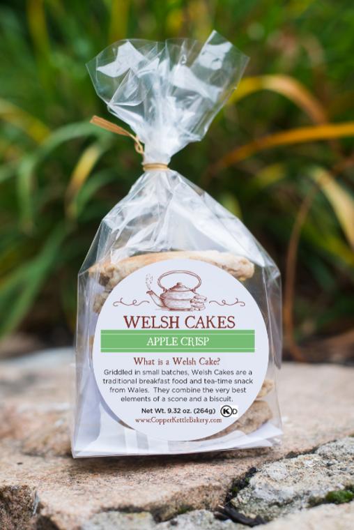 Apple Crisp Welsh Cakes