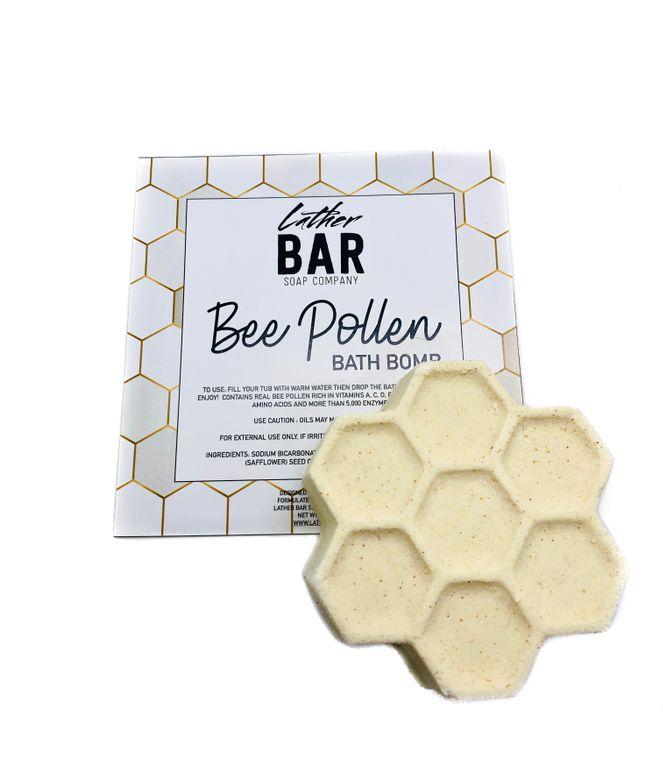 Bee Pollen Bath Bomb