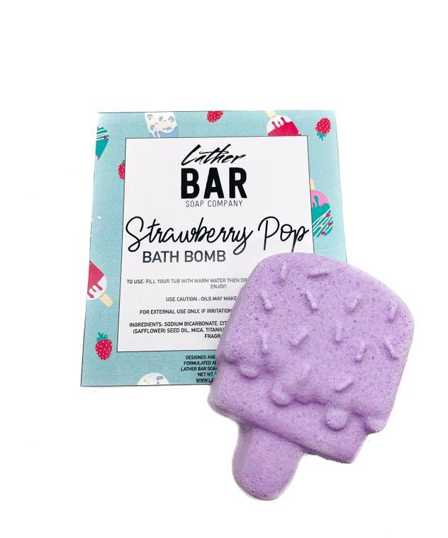 Strawberry Pop Bath Bomb