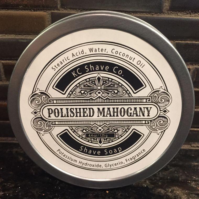 Mahogany Shaving Soap