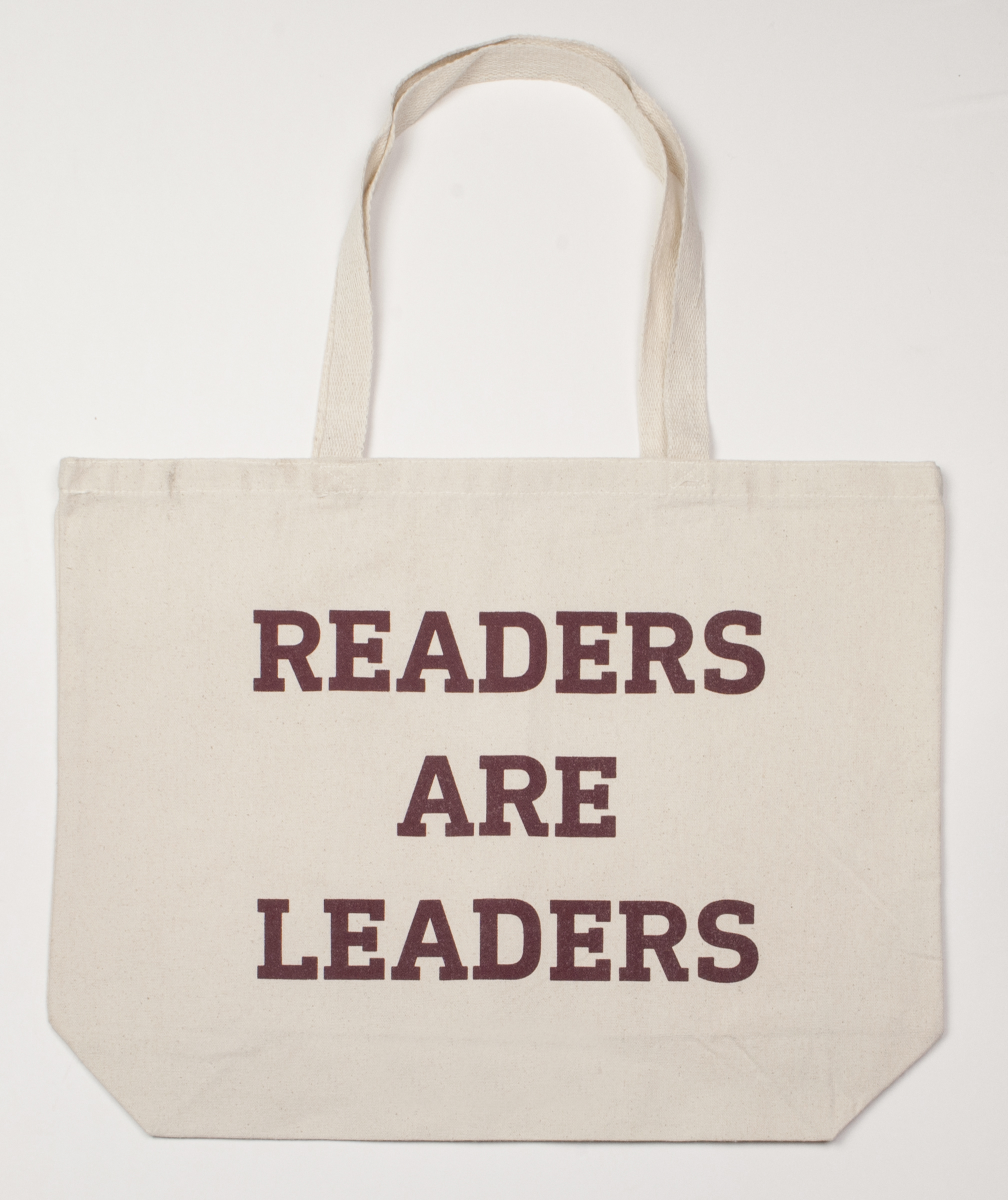 Tote- Readers Are Leaders Canvas Tote Text Edition