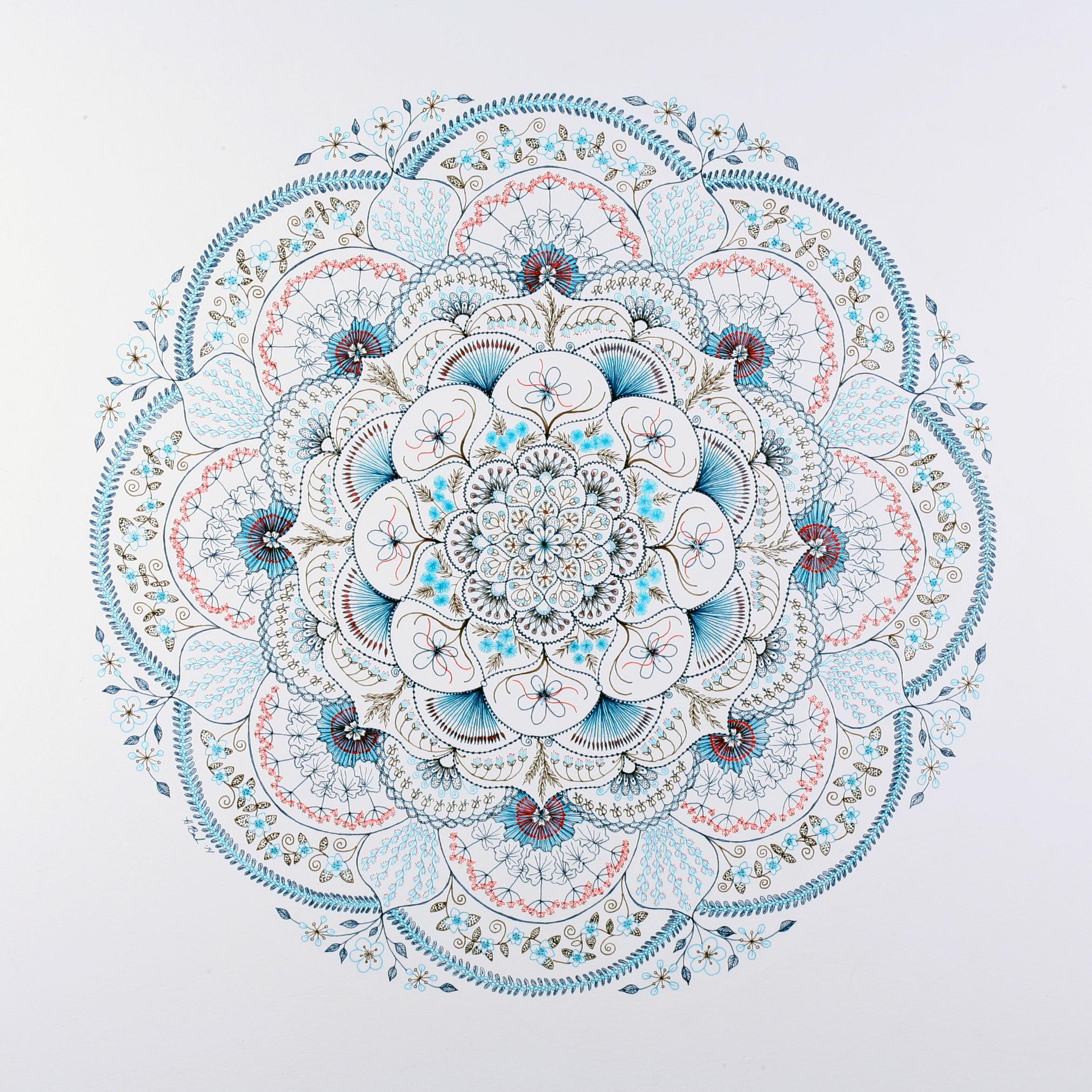 Love Mandala Giclee Print