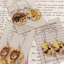 Book Lover Earrings -- Assorted