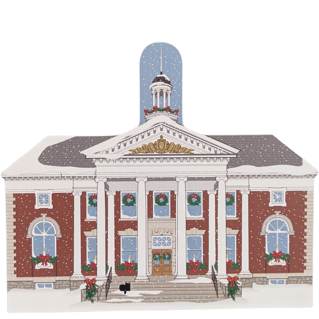 Stowe Vermont Christmas, Memorial Hall
